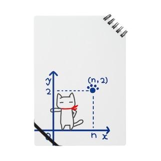 第一象限に立つネコ Notes