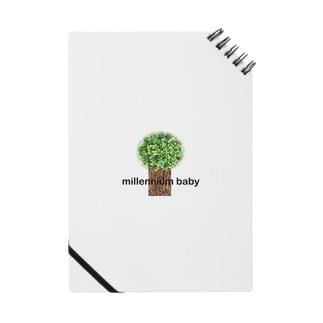 Millennium baby小物 Notes