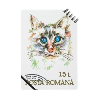 ルーマニアの切手:猫切手 Notes