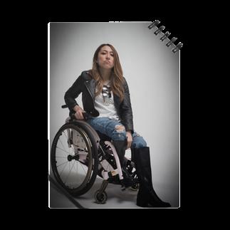 中嶋涼子の車椅子ですがなにか?!のロゴなしシリーズ Notes