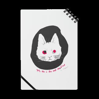mya-mya=MIYA JUNKO's shop 02のodd-eyed cat Notes