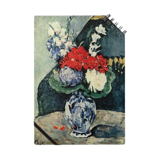 ポール・セザンヌ / 1874 /Still life, Delft vase with flowers / Paul Cezanne Notes