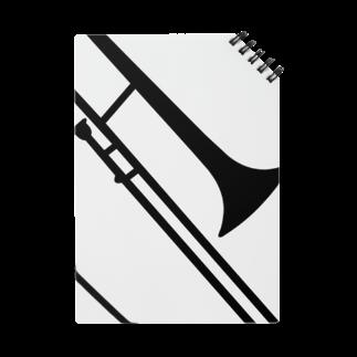 decoppaのトロンボーンシルエット Notes