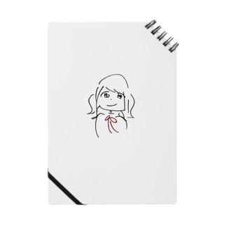 赤いボウタイ女の子 Notes