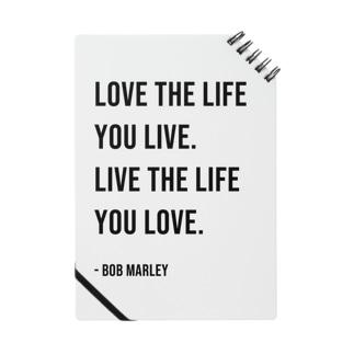 Hello BoB Marley `LOVE LIFE!!` Notes