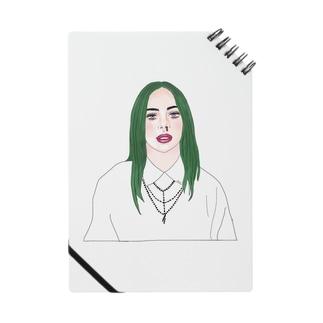 Green Hair Girl Notes