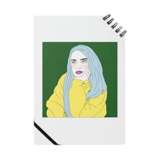 Blue Hair Girl Notes