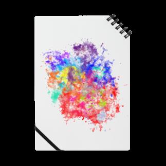 みやび's SHOPのカラフルなノート Notes