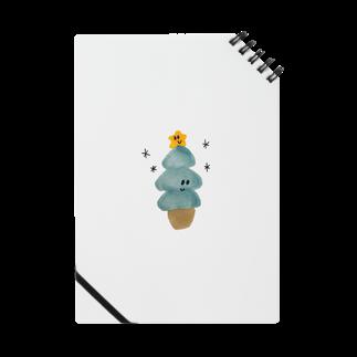 カエデザインのイラストのクリスマスツリーちゃん Notes
