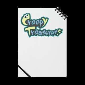 Creepy Treasures!のCreepy Treasures! Logo Notes