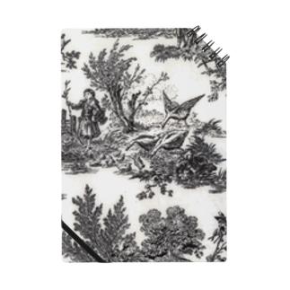 J. Jeffery Print Galleryのトワルドジュイ Toile de Jouy Notes