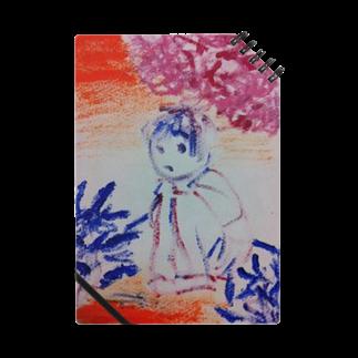 fuffu_dazoの隠れてる少女(イラスト 絵の具 女の子)ふっふ Notes