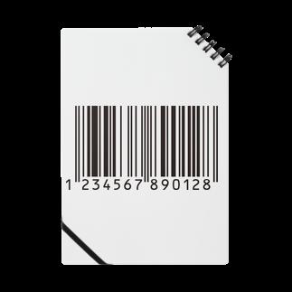___Ru____のバーコード Notes