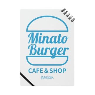 MinatoBurgerグッズ(ブルー) Notes