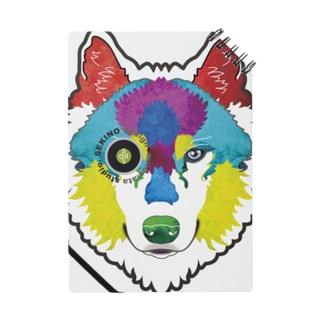 狼-絵具 ノート