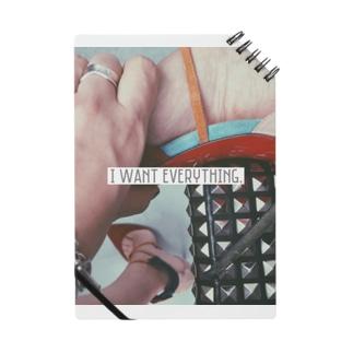 I want everything. Notes