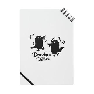 Dondocoダンスだばしくん Tシャツ Notes