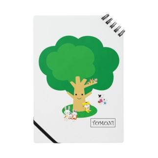 TOMONIの木(カラー) ノート