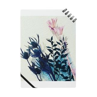 くすみカラーのお花たち Notes