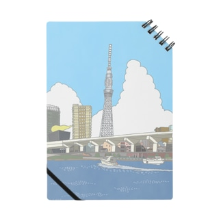 TOKYO SKY TREE NOTE BOOK Notes