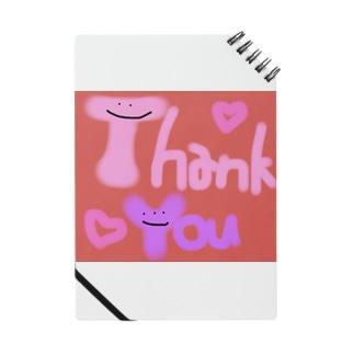 カラフルかわいいシリーズ Thank You Notes