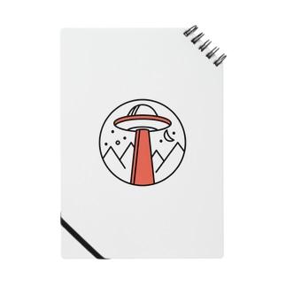 UFO(オレンジ) Notebook