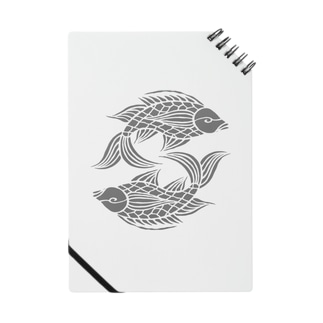 沖縄の風♪ 壷屋焼風双魚文(濃) Notes