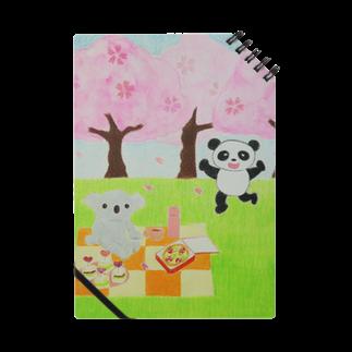 RAAKOのコアラとパンダ Notes