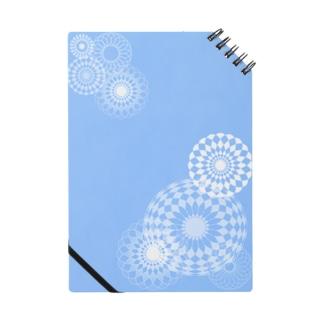 blue swirls  Notes