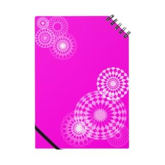 pink swirls Notes