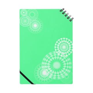 green swirls Notes