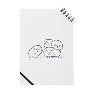 ハリネズミたち Notes