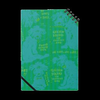 mya-mya=MIYA JUNKO's shop 02のGolden Doodle is the Perfect Dog Notes