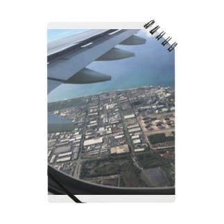 NATSUKO-SHOPの飛行機の窓から Notes