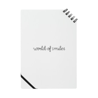 World of smiles ノート Notebook