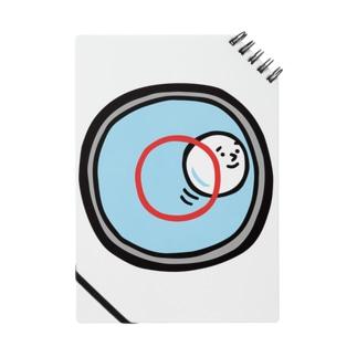 キャラNo.53水準器の中の気泡くん  ノート