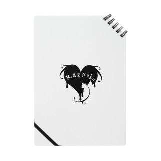 ラズ猫ロゴ 白丸 Notes