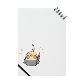 ドヤッとオカメさん Notes