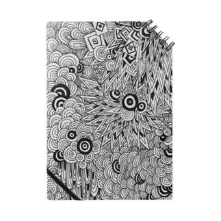 [重なり] 白黒 Notes