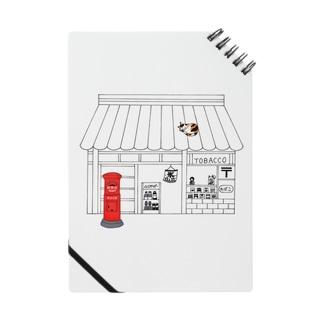 懐かしポストと三毛猫 ノート