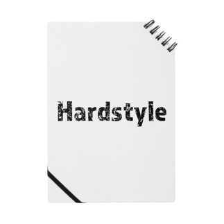 Hardstyleロゴ入りノート Notes