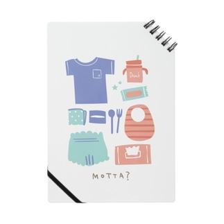どんどんキッズ*デザインroomの忘れ物ない?*Girl Notebook