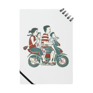 akaneyabushitaの【バリの人々】バイク家族乗り Notes