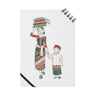 【バリの人々】お母さんと子供 Notes