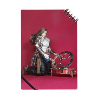 ドール写真:日時計を見る美少女ガンファイター Doll picture: Sundial & girl Notes