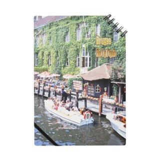 ベルギー:ブリュージュの運河 Bergie: Canal of Bruges Notes