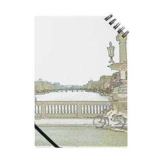 CG絵画:アムステルダムの運河 CG art: Canal in Amsterdam Notes