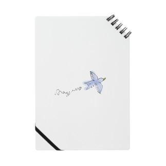 Happy Blue Birdを手元に。 Notes