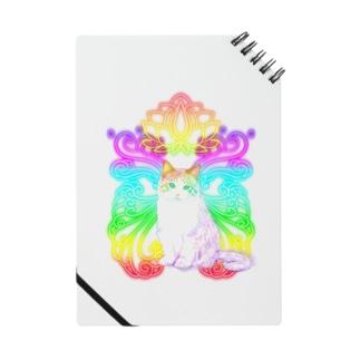 虹色オーラのにゃんこ Notes