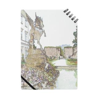 CG絵画:ミラベル宮殿 CG art: Schross Mirabell / Salzburg Notes